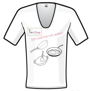 T-Shirt - Ich panne mit jeder!