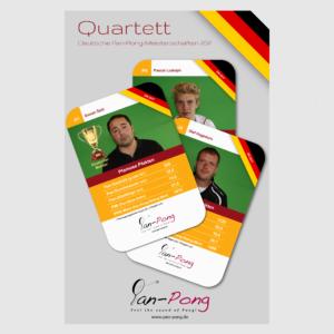 Pan-Pong-Quartett DM 2017