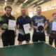 Pan-Pong-Qualifier Braunschweig Siegerfoto
