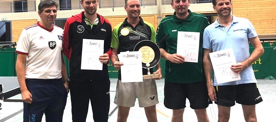 Sieger der 3. Pan-Pong-DM